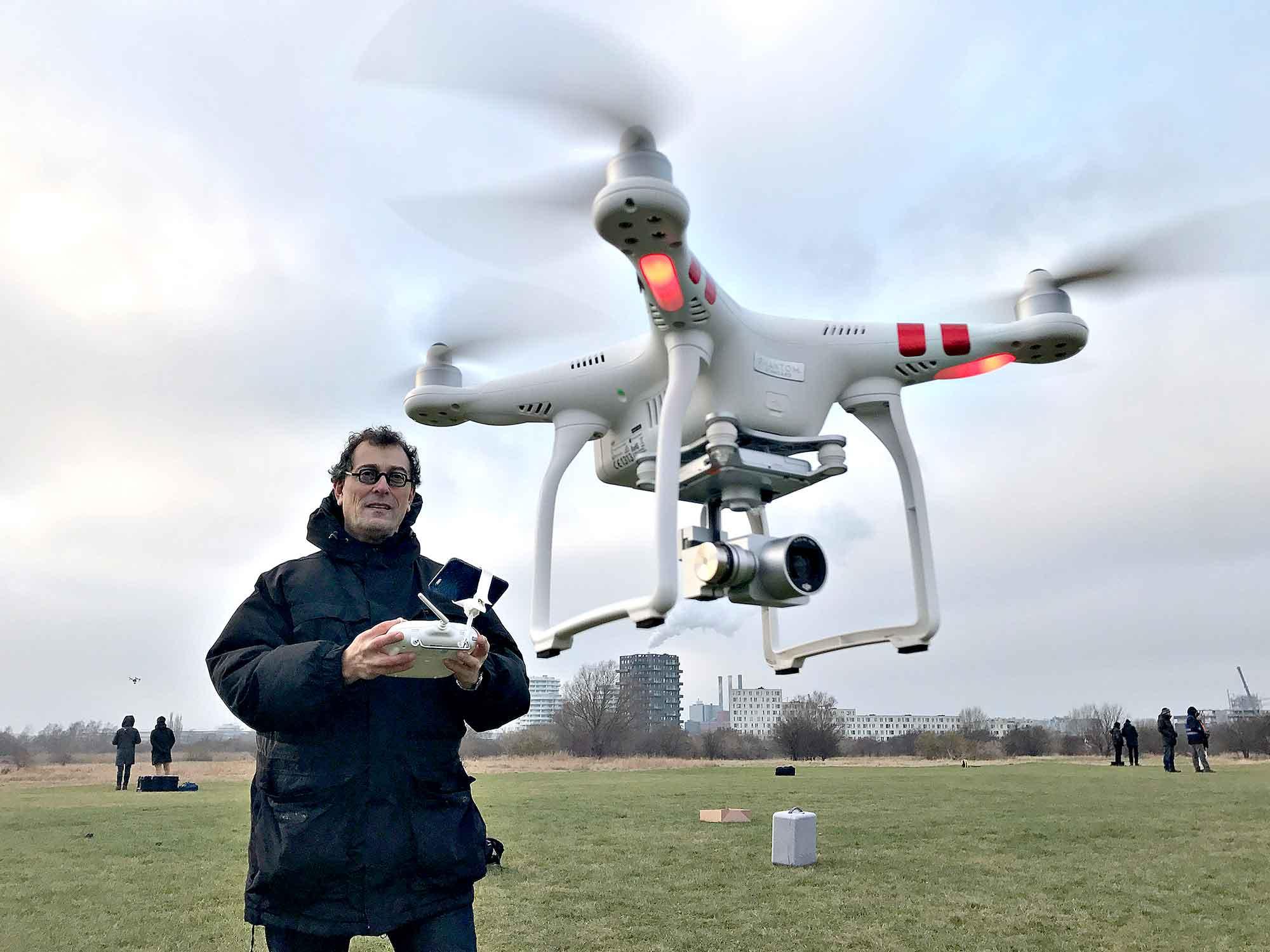 Droneinspektion i København