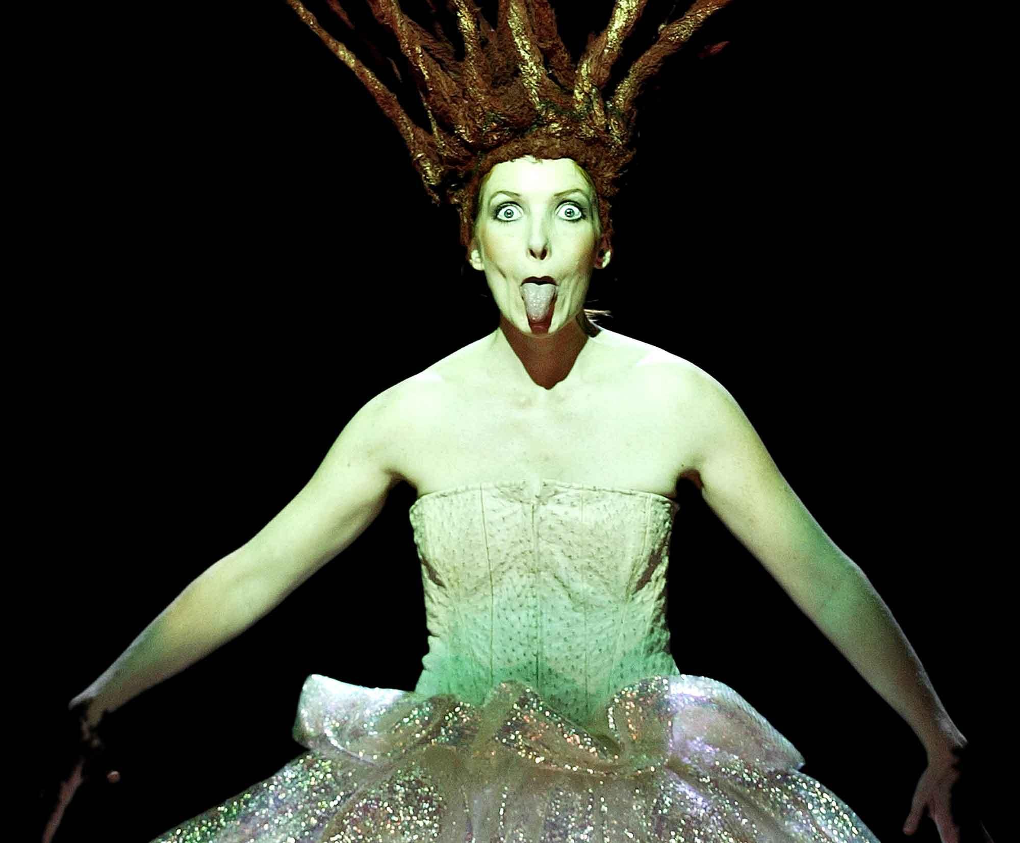 Fra forestillingen Miki Alone på Den anden opera