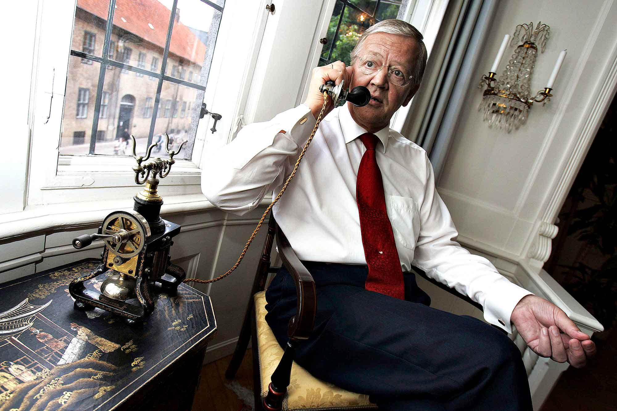 Henning Dyremose, Adm. direktør TDC, tidl. arbejds- og finansminister Konservative