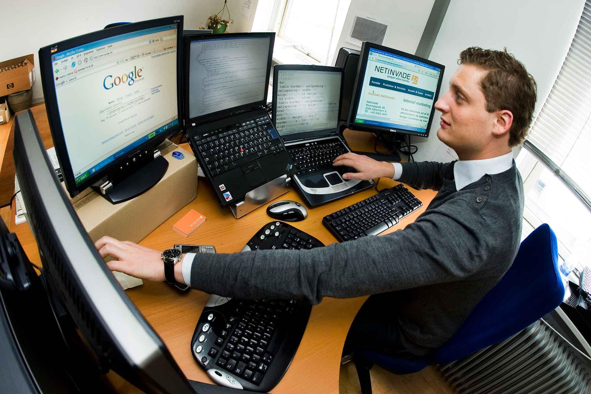 Hjemmesider overvåges for mirmaer af netinvade