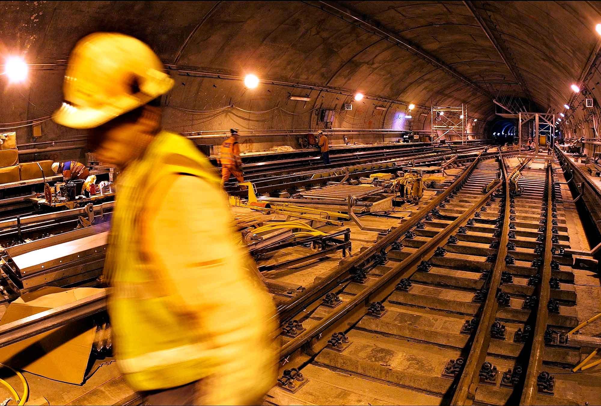 Metrotunnel bygges af Maunsel