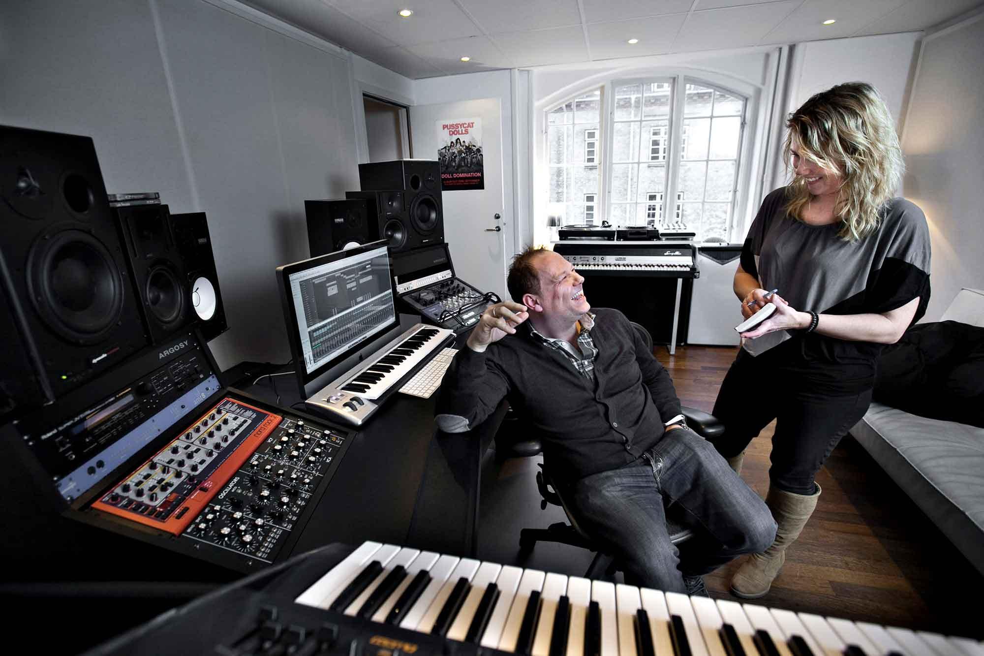 Musikkeren Cutfather - Mick Hansen