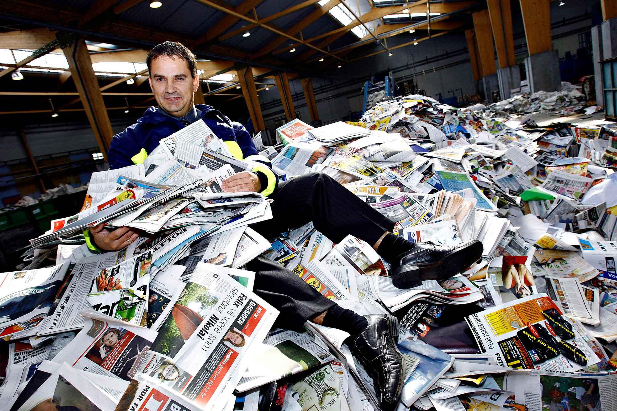 Papir til genbrug-Stena
