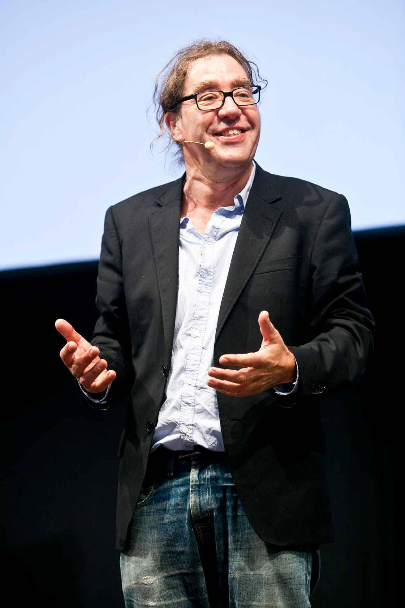 Peter Langdal optræder til DANVAs årskongres
