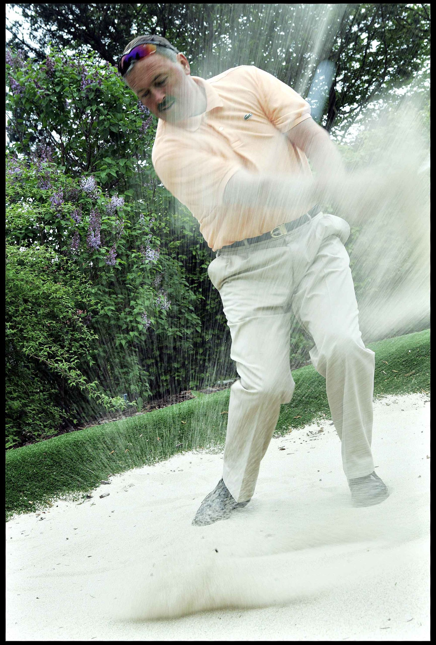 Professionelle golfspiller Leif Nyholm