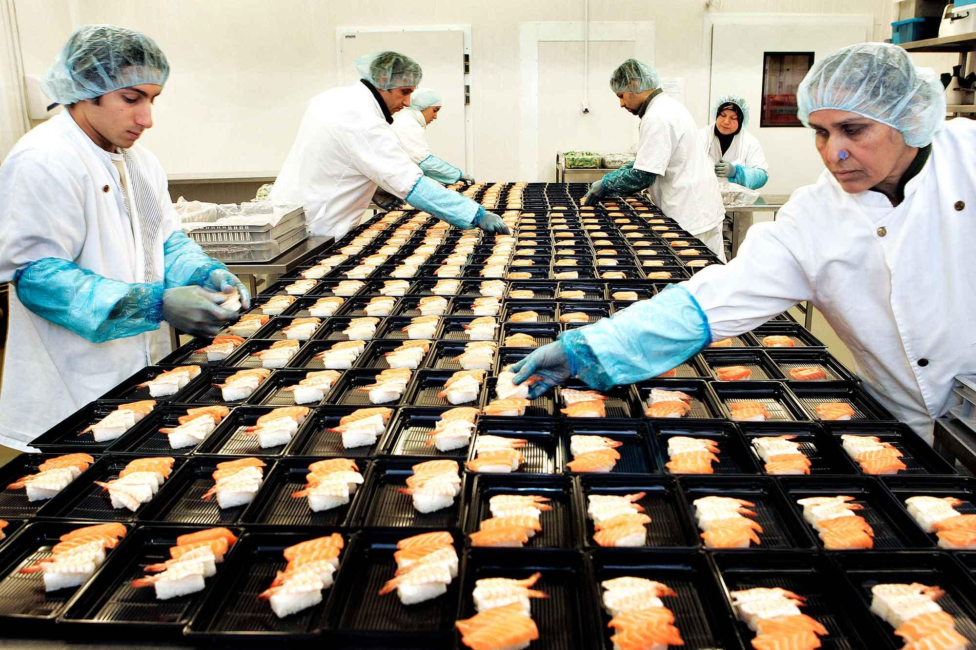 TOKYOFOOD producerer sushi til Irma