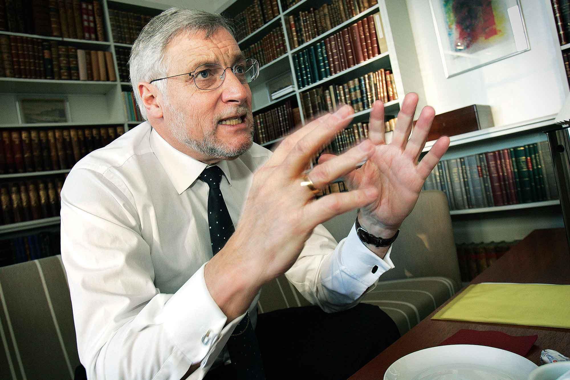 Tidl. indenrigs- og finansminister Thor Pedersen - Vendtre