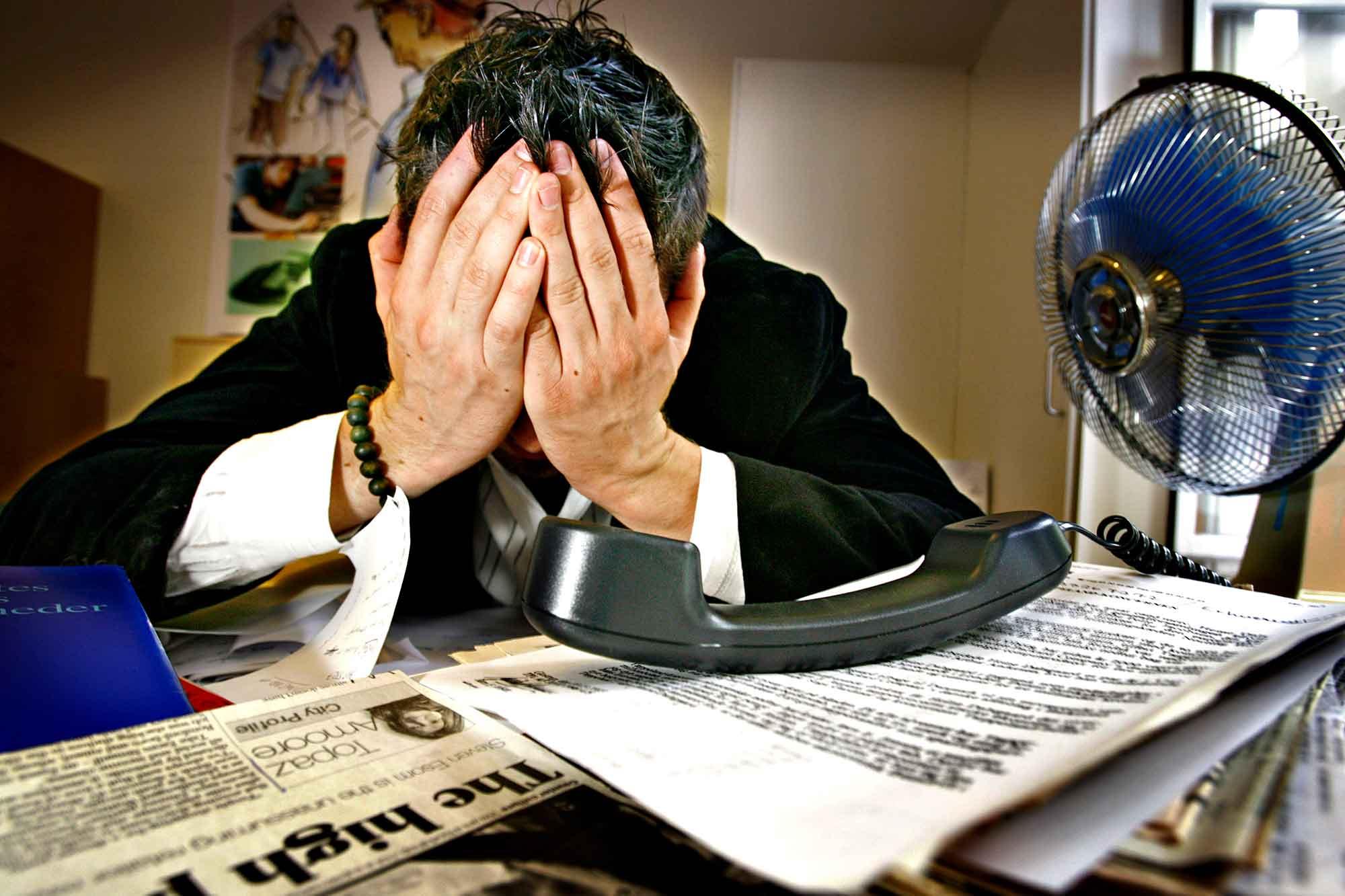 stress på arbejdet